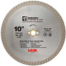 Mk Diamond 10in. Contractor Diamond Blade 167024