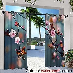 Amazon Com Nature Patio Curtains W84 X L96 Japanese