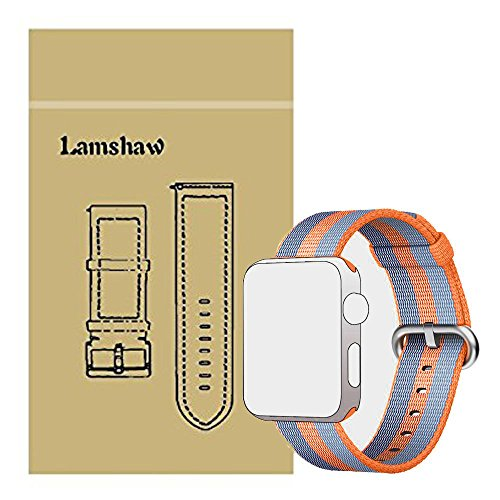 Lamshaw Classic Replacement iWatch Orange 38mm product image