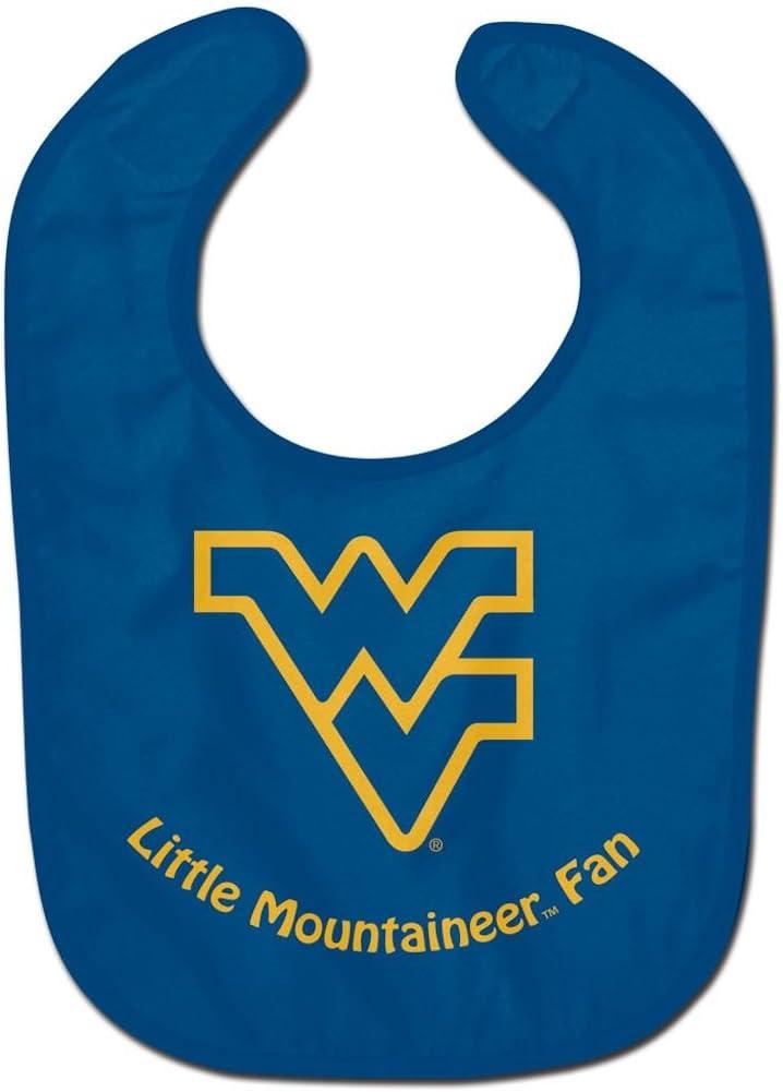 WinCraft NCAA West Virginia University WCRA2017814 All Pro Baby Bib