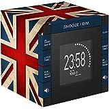 BigBen RR70PGB - Reloj con proyector (230 V, Pantalla LCD y Altavoces incorporados,