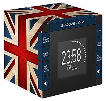 BigBen RR70PGB - Reloj con proyector (230 V, Pantalla LCD y ...