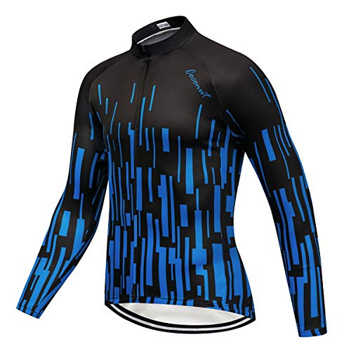 Coconut Ropamo Men's Long Sleeve Cycling Jersey