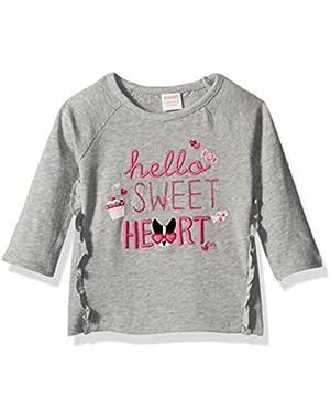Baby Girls' Hello Sweetheart Graphic Tee