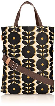 Orla Kiely 14SECWF134 Cut-Out Wildflower Book Cross Body Bag,Bumble Bee,One Size