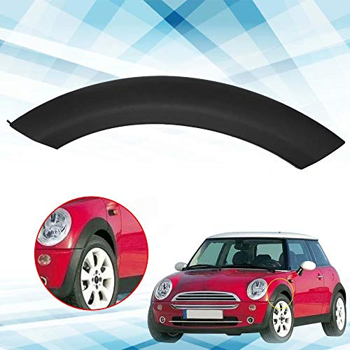 JahyShow Fender Flares for Mini Cooper – Wheel Arch Trim for Hood Front Driver Left Side, Fits for BMW Mini Cooper 2002-2008,OE#51131505867