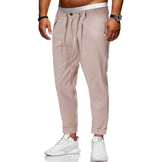 Pantalones De Hombre De Vestir Talla 46 Pantalones S Blancos ...
