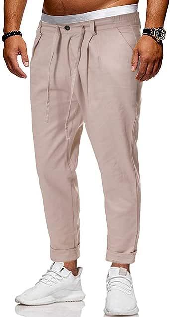 JiaMeng Pantalones Deportivos Pantalones de Jogging Pantalones de ...