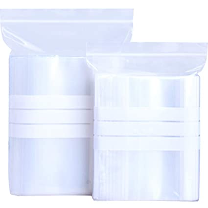 Amazoncom Clear Plastic Zipper Sewing Storage Package Bags With