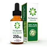 #7: Hemp Oil for Pain Relief - Helps with Anxiety, Chronic Pain, Sleep, Mood, Skin and Hair - Herbal Drops - Rich in Omega 3, 6, 9 Fatty Acids - Natural Anti Inflammatory - 1 Fl Oz. - Tropical Flavor