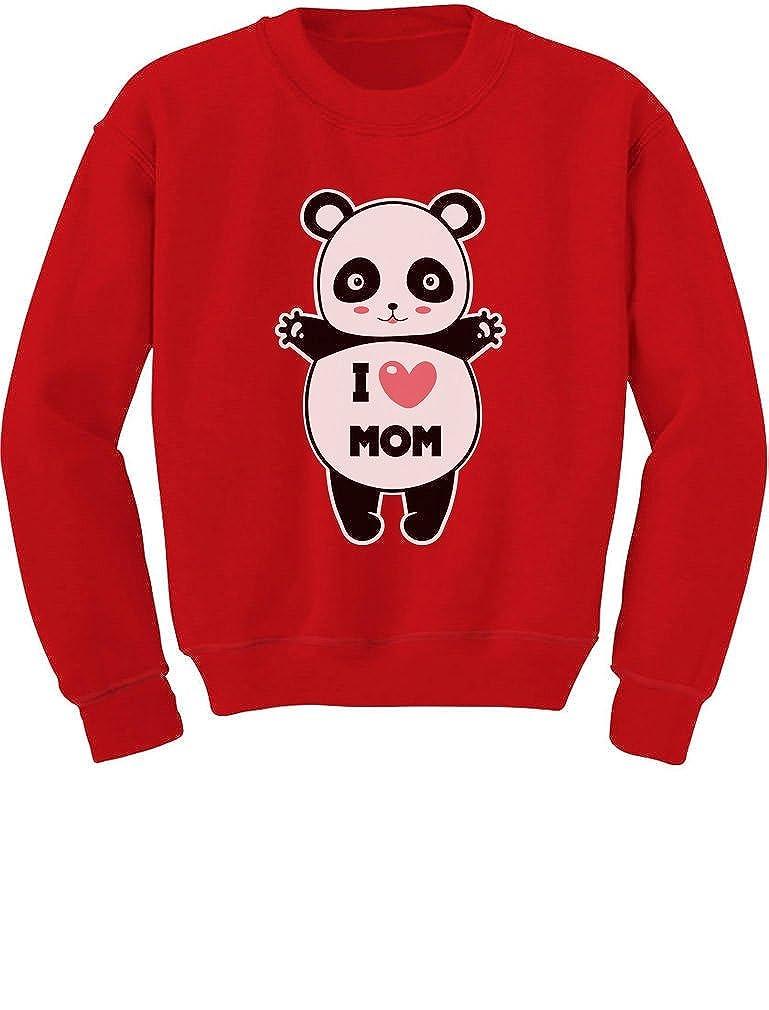 Tstars - Mother's Day Gift I Love Mom Panda Hug Toddler/Kids Sweatshirt GZhP033gf5