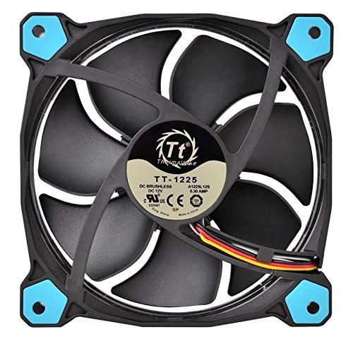 diametro 14 cm LED blu Thermaltake Riing 14 Ventola per radiatore