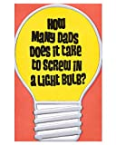 American Greetings Funny Light Bulb Father's Day Card with Foil (6051618)