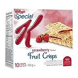 Kellogg's Special K Fruit Crisps, Strawberry Flavour 10 Crisps, 125g box