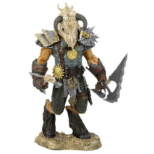 McFarlane's Fantasy Series 1: Legend of the Blade Hunters - Tyr (Dragon Rider)
