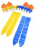 SKLZ 10-Man Flag Football Deluxe Set W/Flags and Cones.