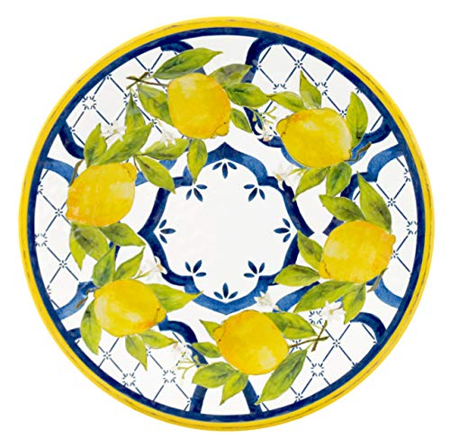 Le Cadeaux Palermo - Melamine Dinner Plate - Set of 4