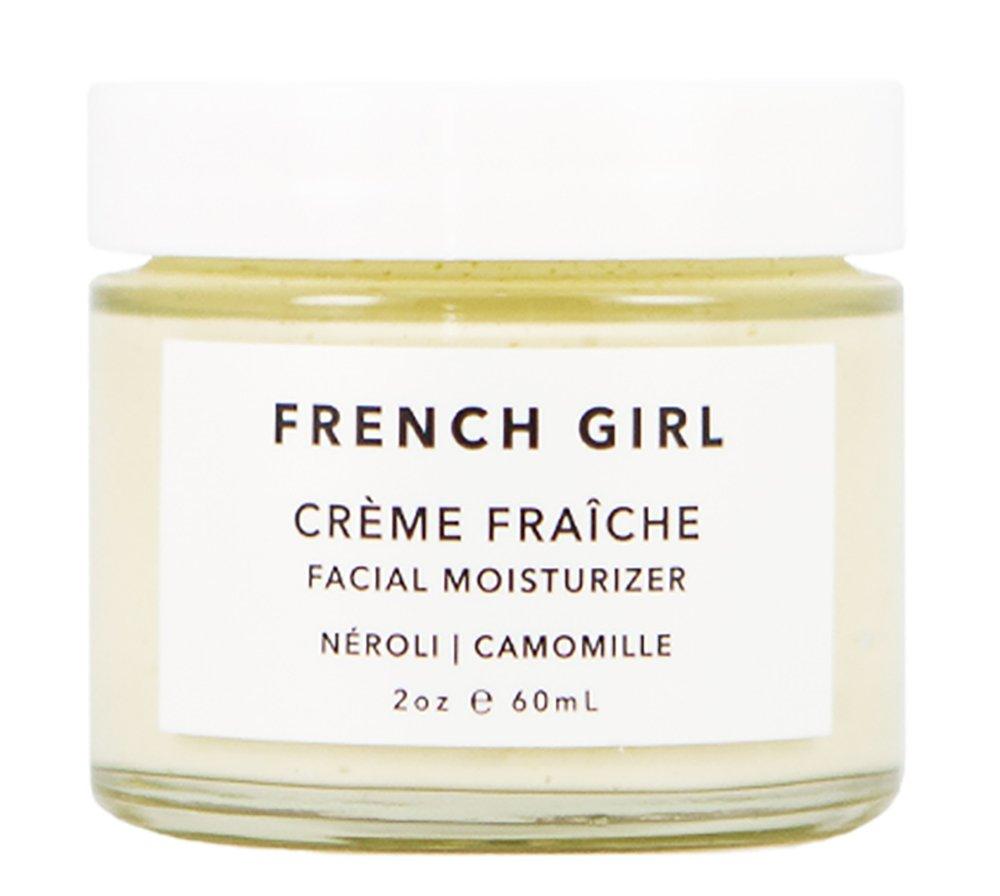 French Girl Organics - Organic / Vegan Neroli Creme Fraiche Facial Moisturizer (2 oz)