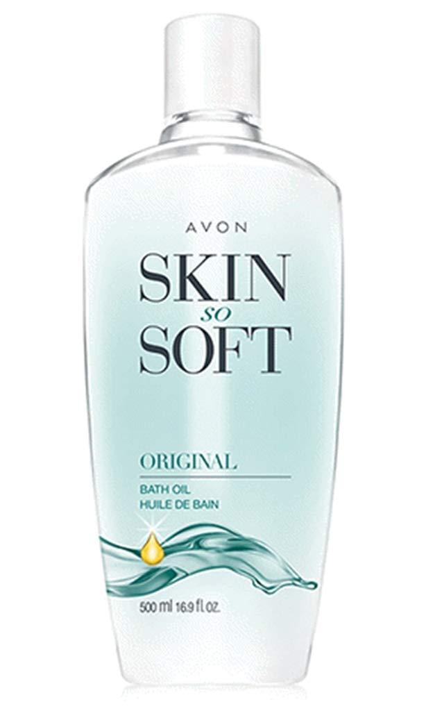 Avon Skin So Soft Original Bath Oil 16.9 fl. oz. Lot 3 bottles