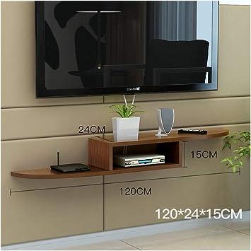 DERTL - Mueble para televisor pequeño con Marco Flotante (Mueble para TV, para televisión, para Oficina, para ...