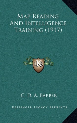 Download Map Reading And Intelligence Training (1917) pdf epub
