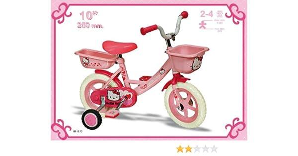 Hello Kitty de 10 pulgadas bicicleta: Amazon.es: Juguetes y juegos