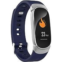 Tianya QW16 - Reloj Inteligente de Pulsera para Fitness y Actividad