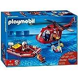 Playmobil 4428 - Helicóptero y bote de rescate