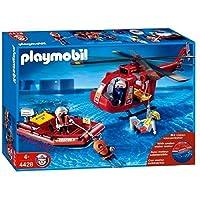 Playmobil - 4428 - Sauveteurs / hélicoptère / bateau