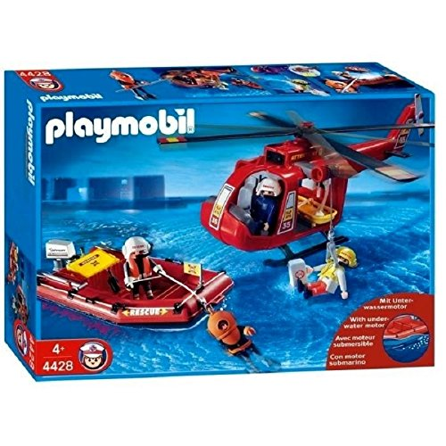 Playmobil City Life - Fire (Rescue Helicopter Playmobil)