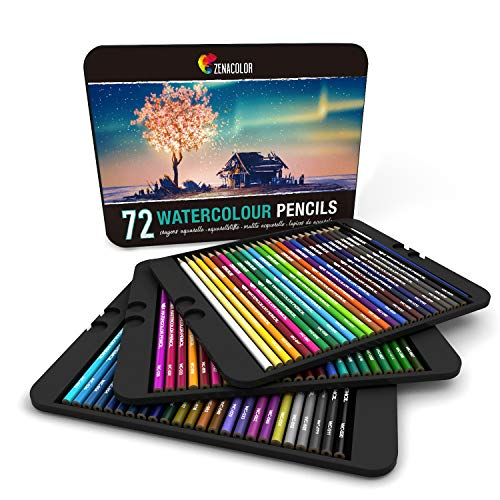 10 Best Watercolor Pencils