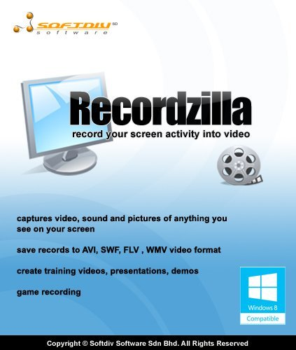Recordzilla Screen Recorder [Download] by Softdiv Software Sdn Bhd