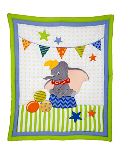 Disney-Dumbo-3-Piece-Crib-Bedding-Set-GreenBlue