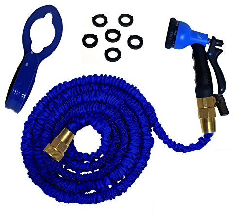 Expandable 50 Foot Hose Kit by RAAYA - Garden Hose with Expa