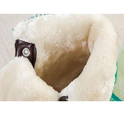 Neve Neve Freddo Ms Antiscivolo 40 da Casual Casual CHENGREN a Stivali Piatto Peluche Stivali Fondo Caldo 44 Invernali Impermeabili Leggero Brown BEHxPqF