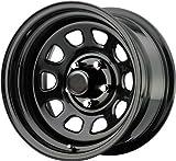 "Automotive : Pro Comp Steel Wheels Series 51 Wheel with Gloss Black Finish (15x8""/6x5.5"")"