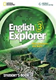 img - for English Explorer 3 with MultiROM (English Explorer: Explore, Learn, Develop) book / textbook / text book