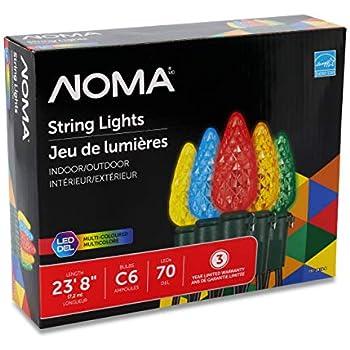 Amazon.com : NOMA C9 LED Quick Clip Christmas Lights ...