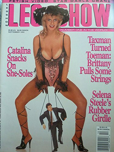 Leg Show for Men Busty Adult Magazine September 1995 Brittany - Leg Magazine