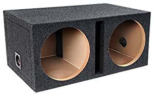 Bbox E12DSV Dual 12-Inch Shared Vent Subwoofer Enclosure