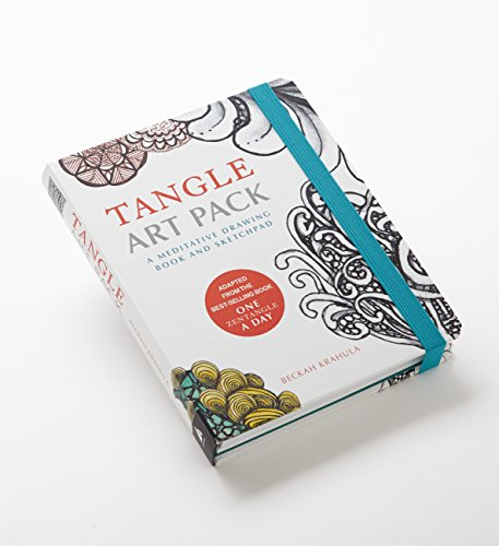 Tangle Art Pack: A Meditative Drawing Book and Sketchpad - Adapted from the Best-Selling Book One Zentangle A Day by imusti