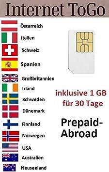 Tarjeta Data Sim de prepago (Internet móvil) para EE. UU ...