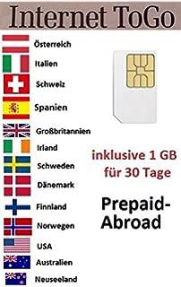 Tarjeta SIM de Datos de Alta Velocidad de 3GB de prepago para ...
