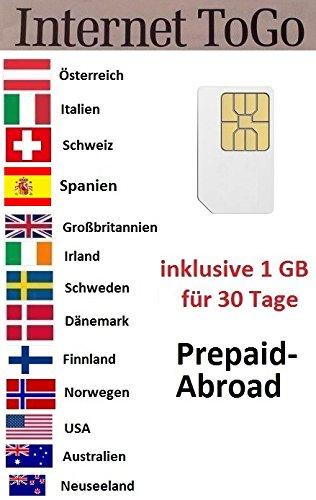 prepaid karte mit internet Prepaid Daten Sim Karte für die USA, Australien: Amazon.de: Elektronik
