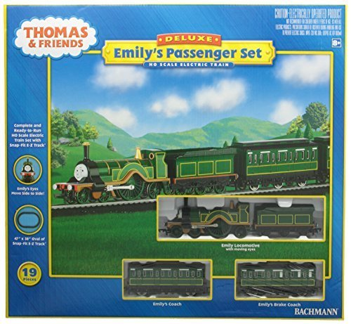 Bachmann Trains Emily`s Passenger Set Ready-to-Run HO Train Set by Bachmann Trains