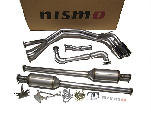 Genuine Nissan Parts 2010S-RS0A0 Dual Sport 'NISMO' Cat-Back Exhaust - Nismo Cat Back Exhaust System