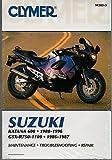 1988-96 CLYMER SUZUKI MOTORCYCLE KATANA 600 & 1986-87 GSX-R750-1100 M383-3