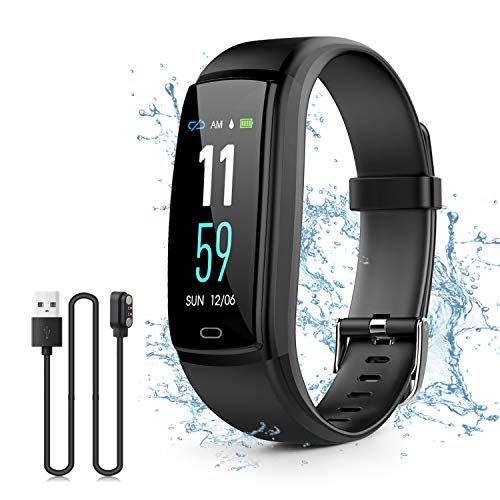 Kirlor Fitness Tracker, Waterproof Color Screen Smart Bracel