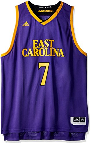 adidas Adult Men Replica Basketball Jersey, Regal Purple, ()