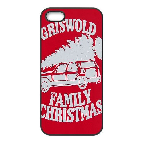 Griswold Family Christmas 001 coque iPhone 5 5S cellulaire cas coque de téléphone cas téléphone cellulaire noir couvercle EOKXLLNCD24146